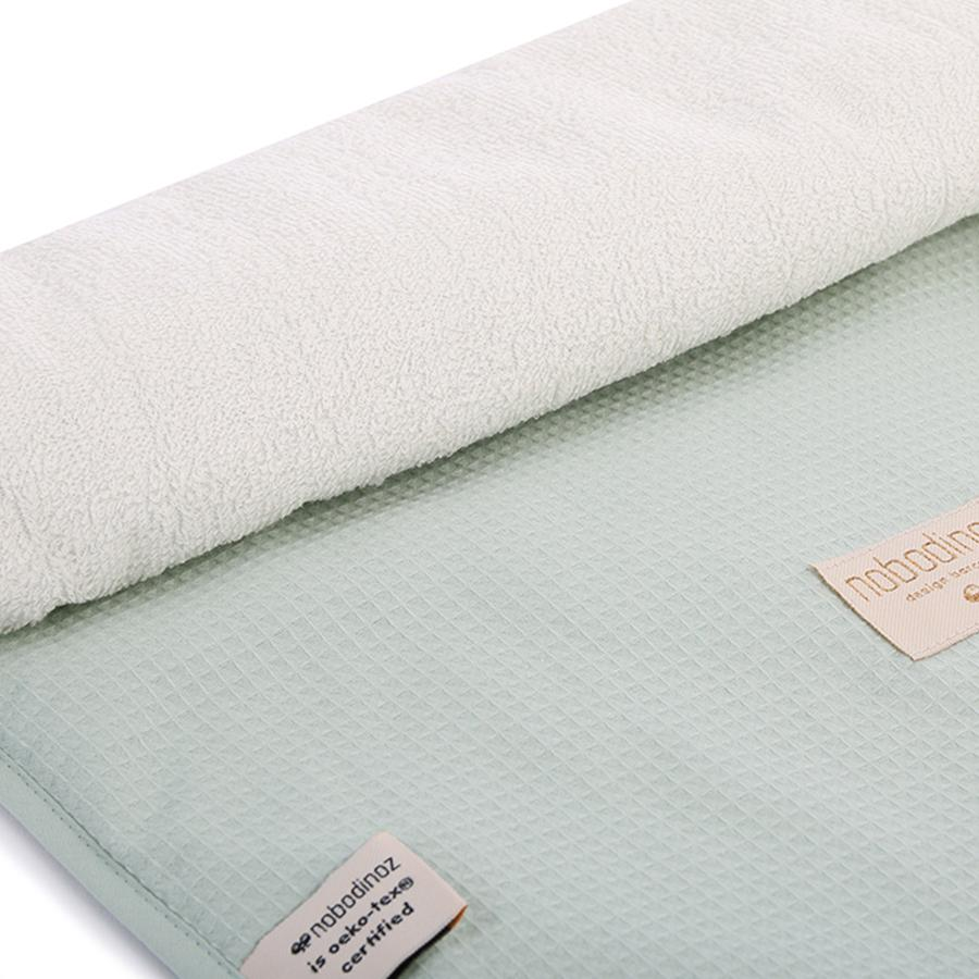 "Changing Pad ""Nomad Honeycomb Aqua"""