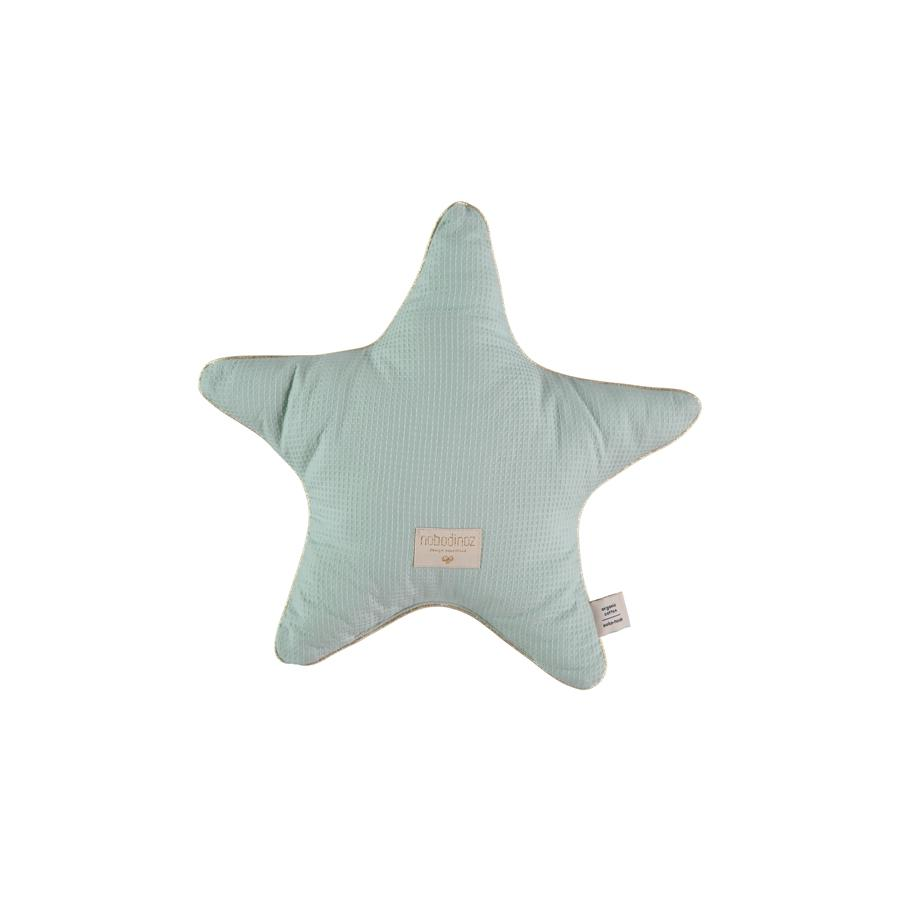 "Cushion ""Aristote Star Aqua"""