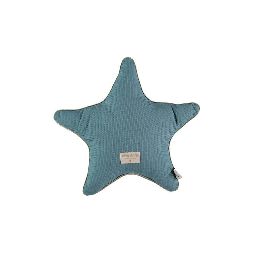 "Cushion ""Aristote Star Magic Green"""