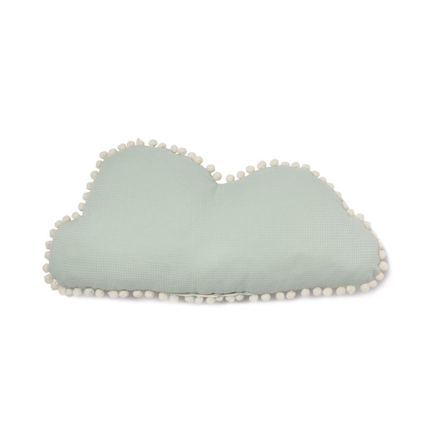 "Cushion ""Marshmallow Cloud Aqua"""