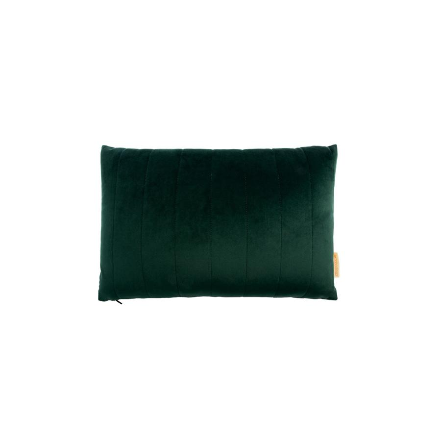 "Cushion ""Savanna Velvet Akamba Jungle Green"""