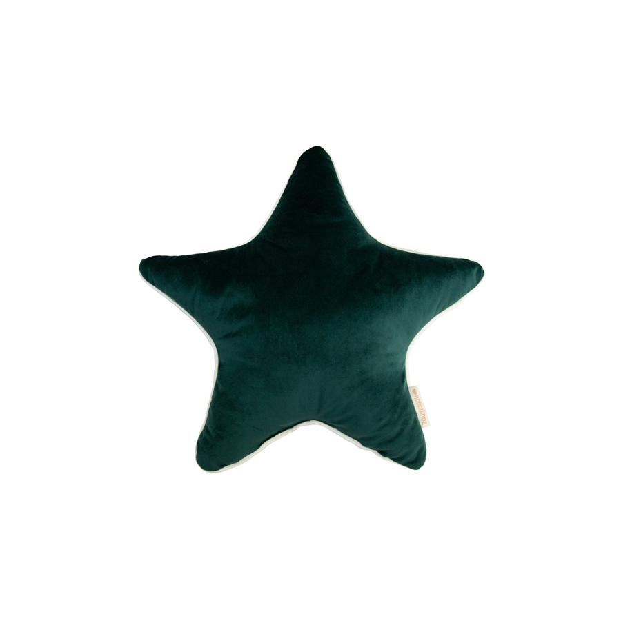 "Cushion ""Savanna Velvet Aristote Star Jungle Green"""