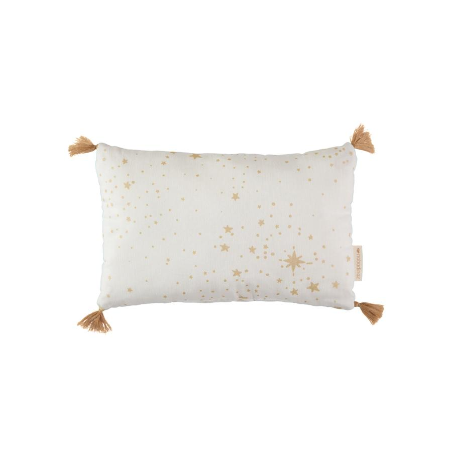 "Cushion  ""Sublim Gold Stella / White"""