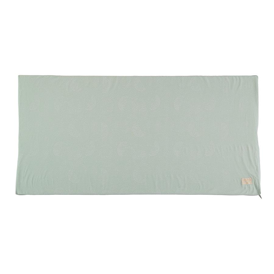 "Mattress ""St. Barth White Bubble / Aqua"""