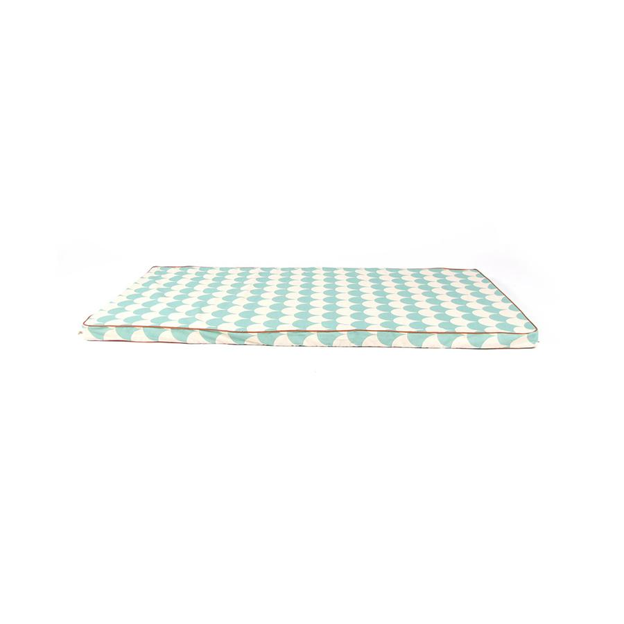 "Mattress ""St. Tropez Green Scales"""