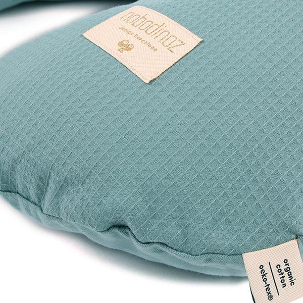 "Nursing Pillow ""Sunrise Honey Comb Magic Green"""