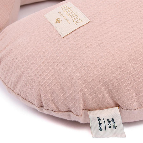 "Nursing Pillow ""Sunrise Honey Comb Misty Pink"""