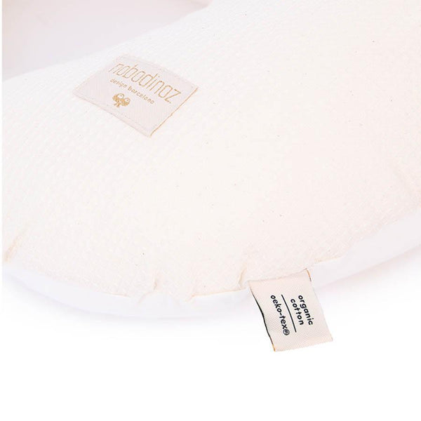 "Nursing Pillow ""Sunrise Honey Comb Natural"""