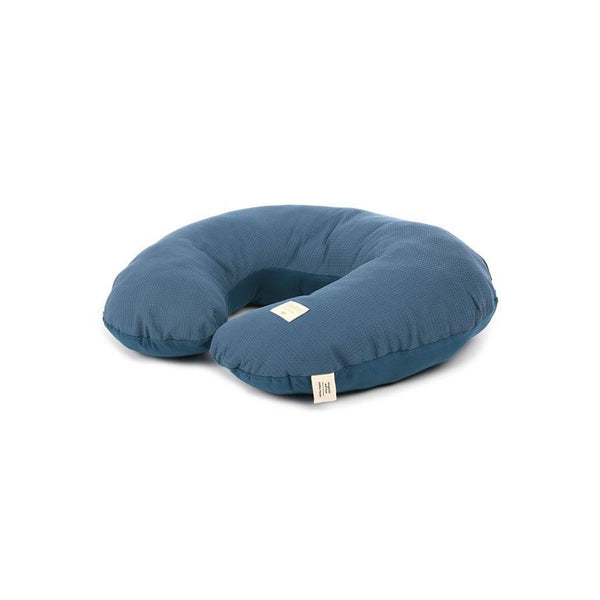 "Nursing Pillow ""Sunrise Honey Comb Night Blue"""