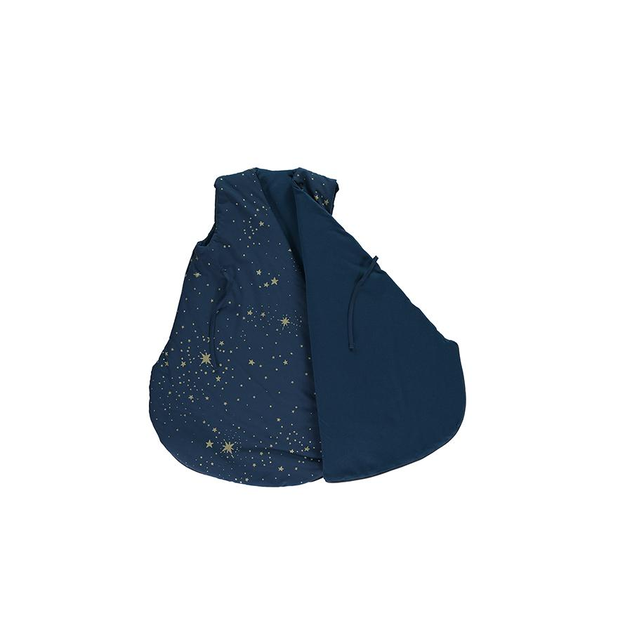 "Baby Sleeping Bag ""Cloud Gold Stella / Night Blue"""