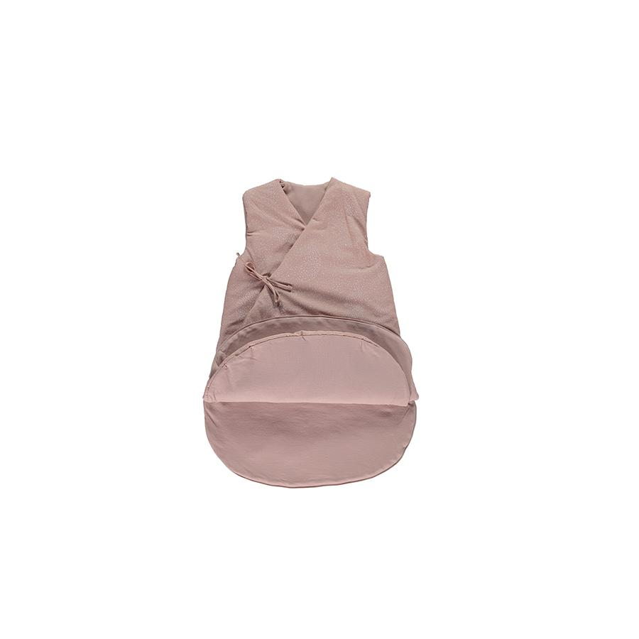 "Baby Sleeping Bag ""Cloud White Bubble / Misty Pink"""
