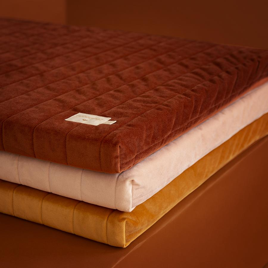 "Mattress ""Savanna Velvet Zanzibar Wild Brown"""