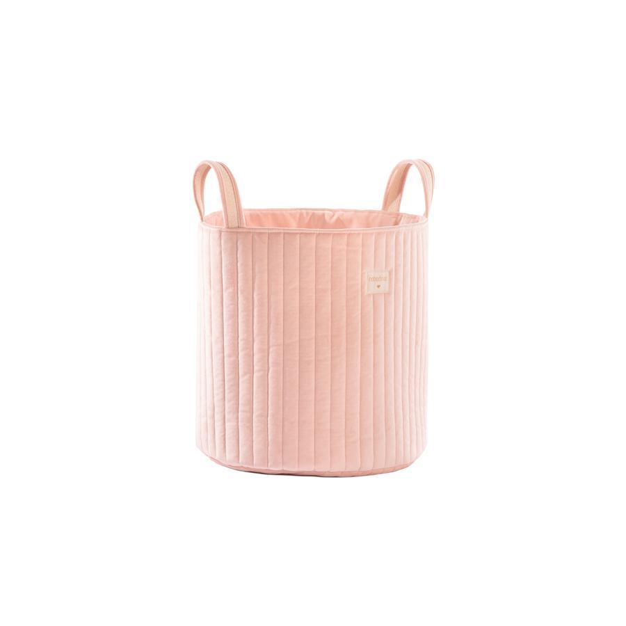 "Storage Basket ""Savanna Velvet Bloom Pink"""