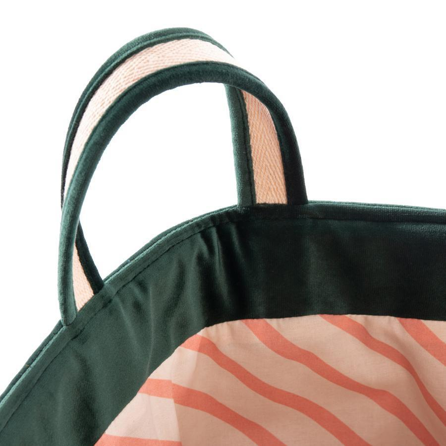 "Storage Basket ""Savanna Velvet Jungle Green"""