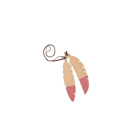 "Teepee Accessories ""Feathers Duo / Pink"""
