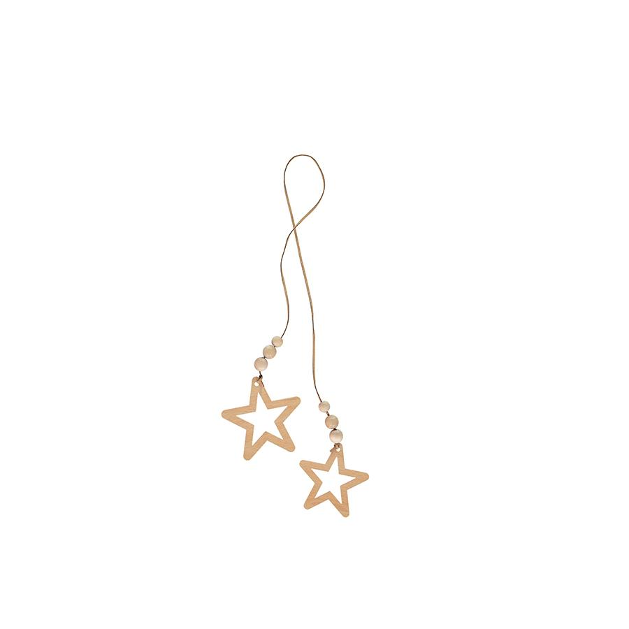 "Teepee Accessories ""Star Duo / Natural"""
