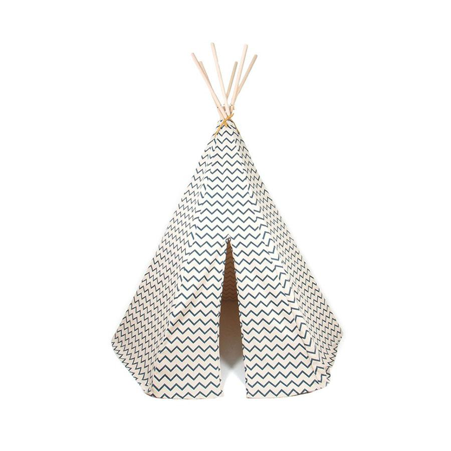 "Teepee ""Arizona Zigzag Blue"""