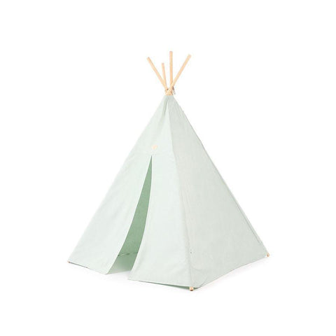 "Teepee ""Phoenix White Bubble Aqua"""