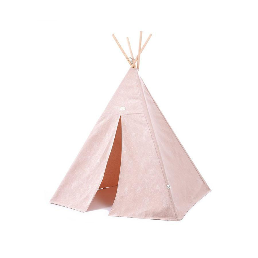 "Teepee ""Phoenix White Bubble Misty Pink"""