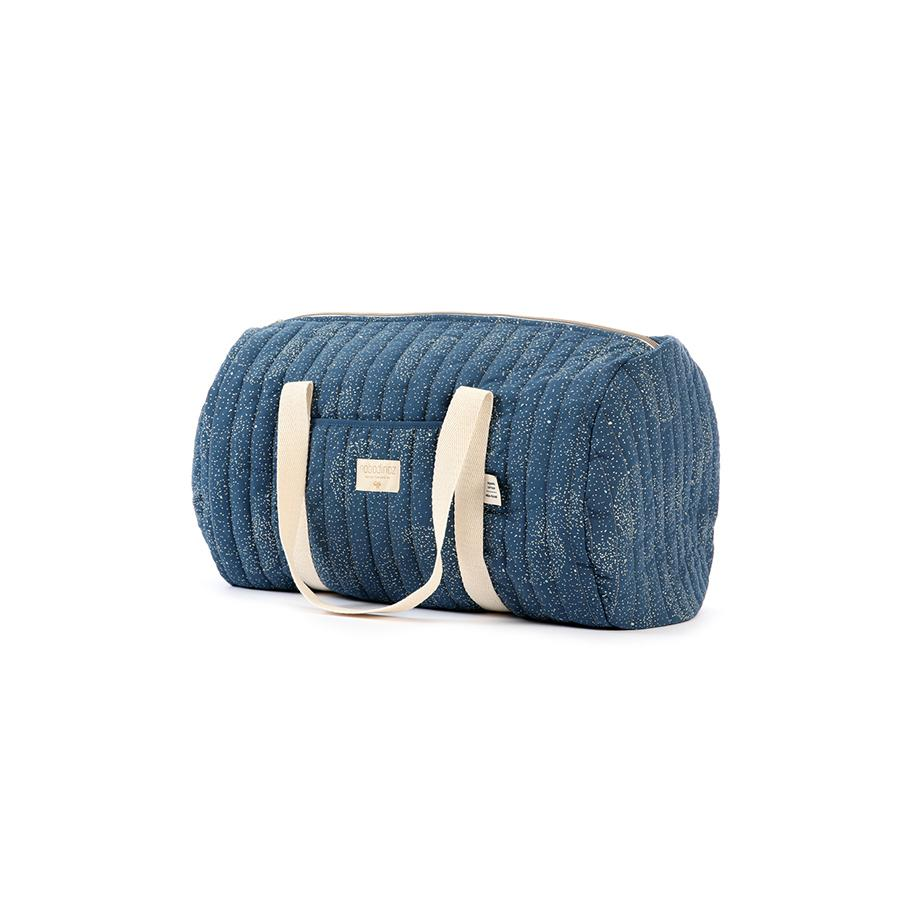 "Weekender Bag ""New York Gold Bubble / Night Blue"""