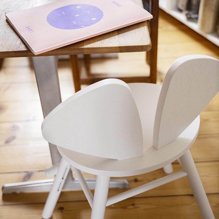 "Junior Chair ""Mouse White"""