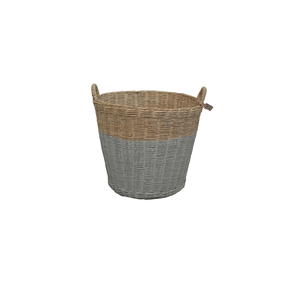 "Storage Basket ""Silver Grey"""