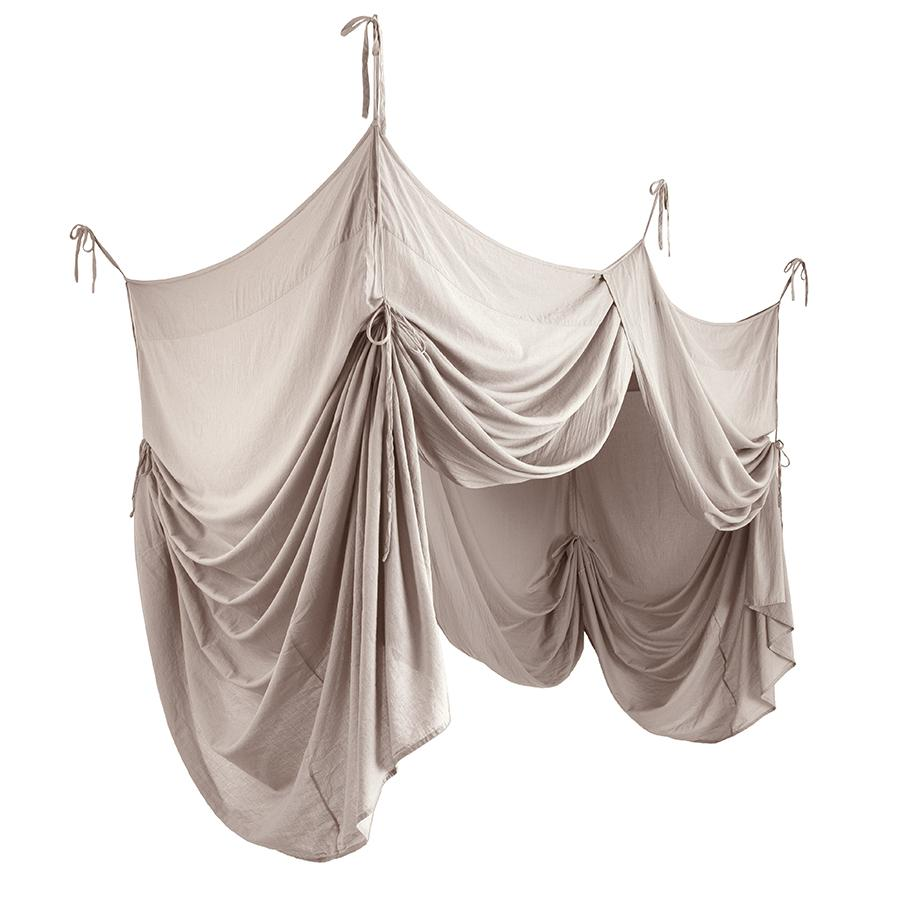 "Bed Canopy ""Bed Drape Double Powder"""