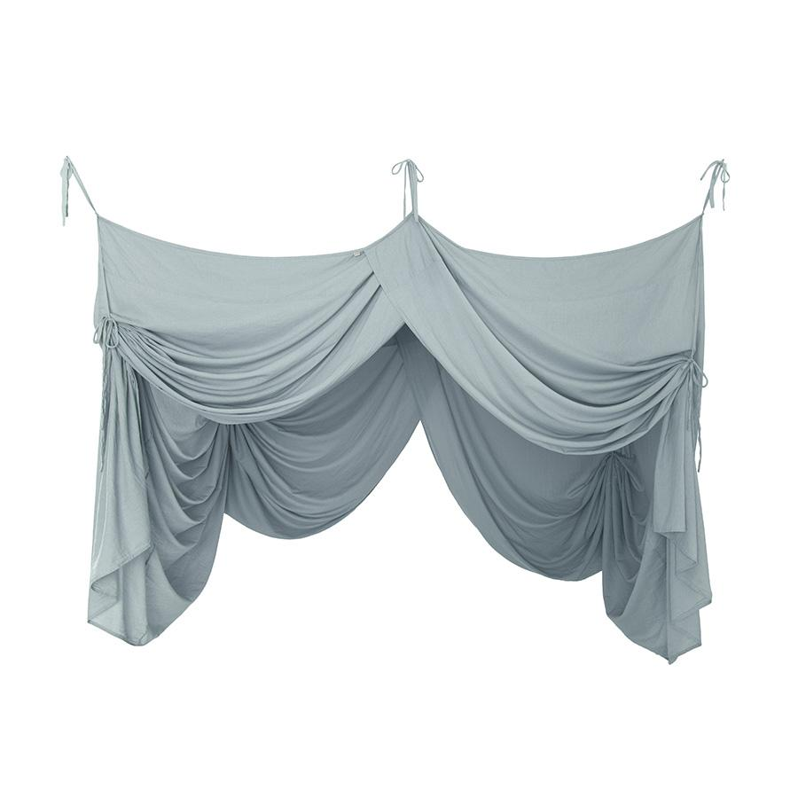 "Bed Canopy ""Bed Drape Single Sweet Blue"""