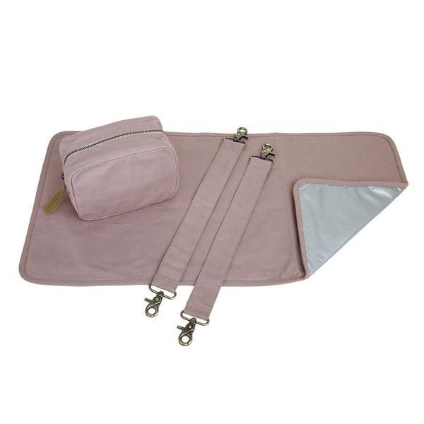 "Changing Bag Set ""Dusty Pink"""