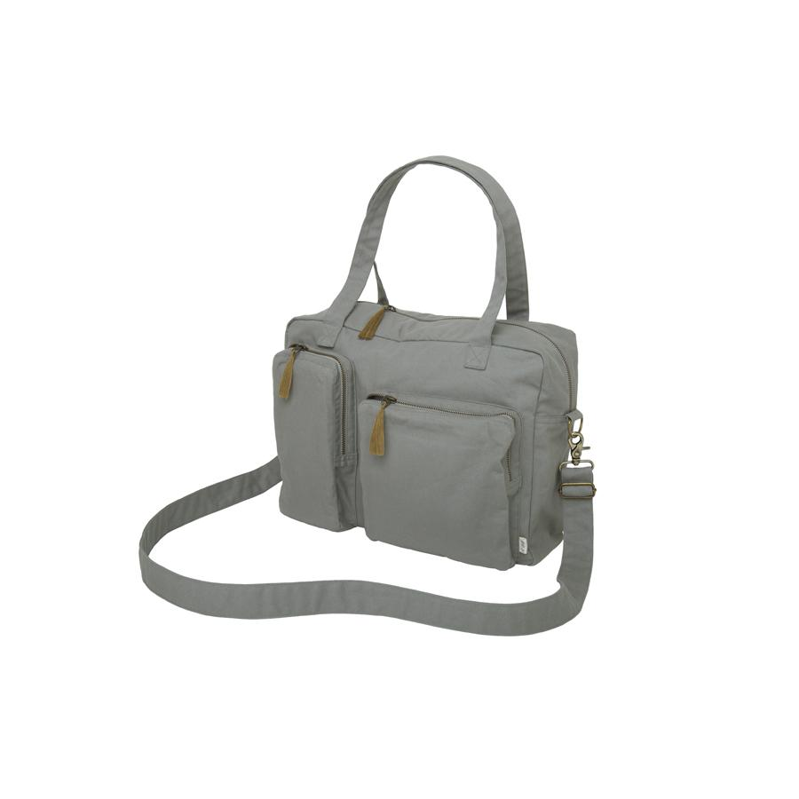 "Changing Bag ""Silver Grey"""