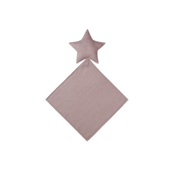 "Cuddle Cloth ""Lovey Star Doudou Dusty Pink"""