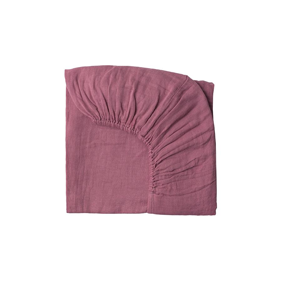 "Fitted Bed Sheet ""Baobab Rose"""
