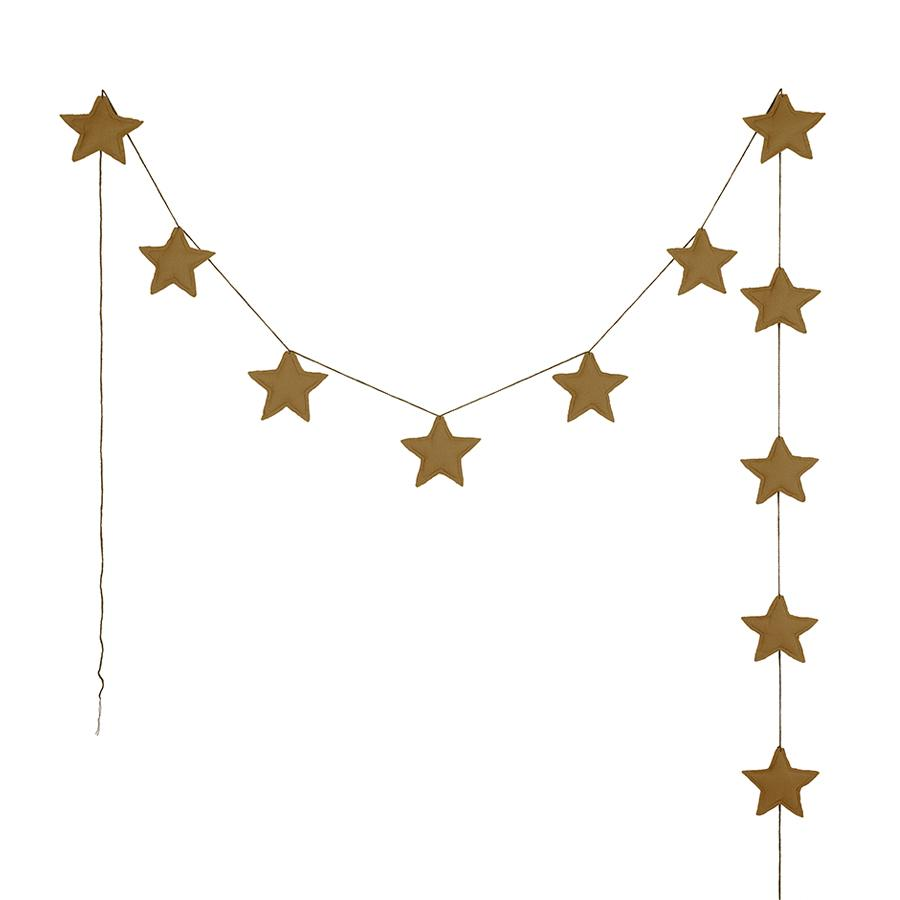 "Garland ""Mini Star Gold"""