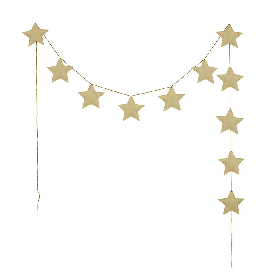 "Garland ""Mini Star Mellow Yellow"""