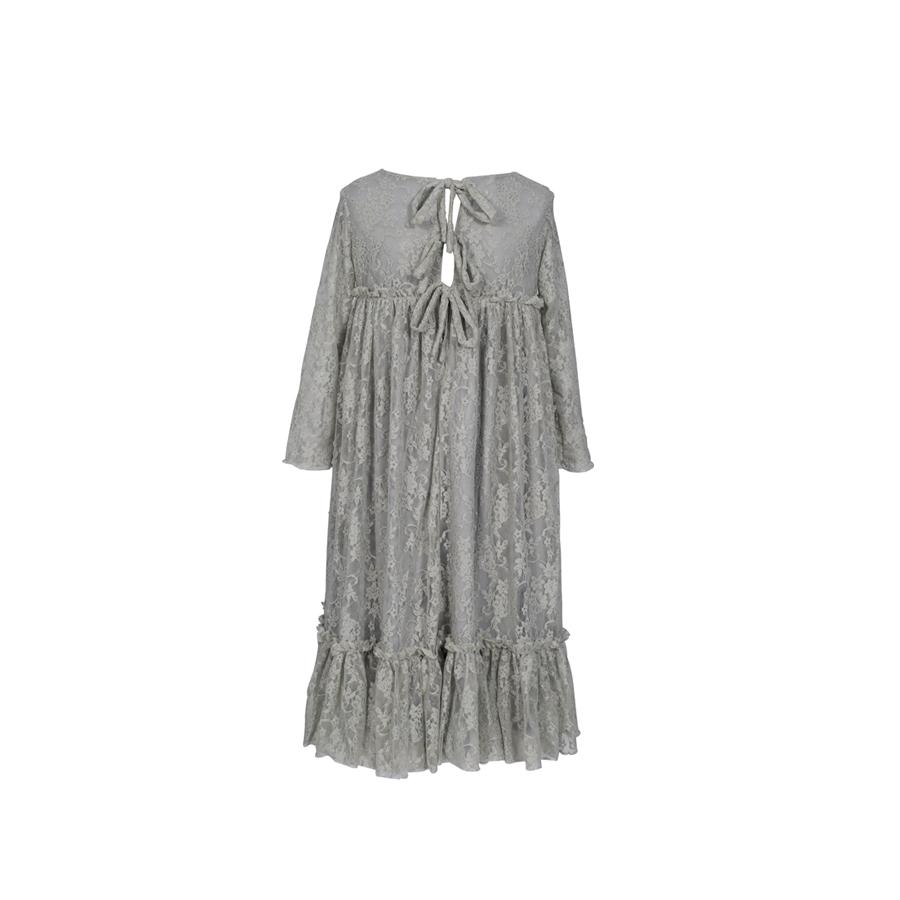 "Long Sleeve Dress ""Carolina Silver Grey"""