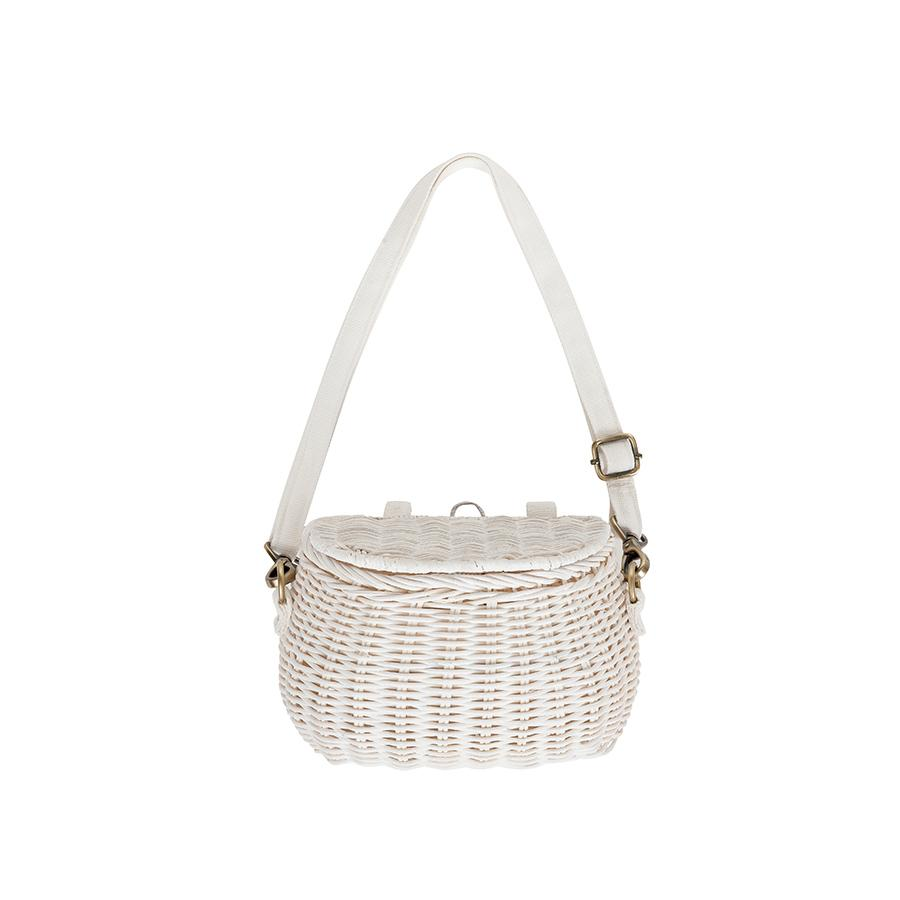 "Bicycle Basket ""Mini Chari White"""
