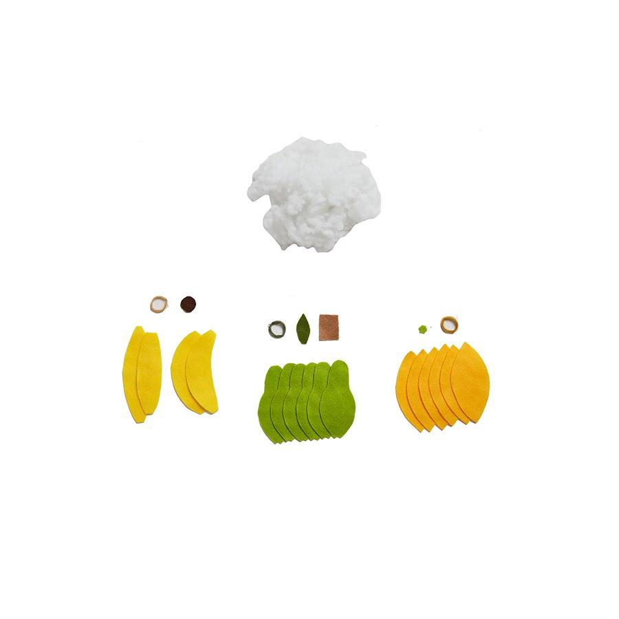 "DIY felt craft set ""Fruit"""