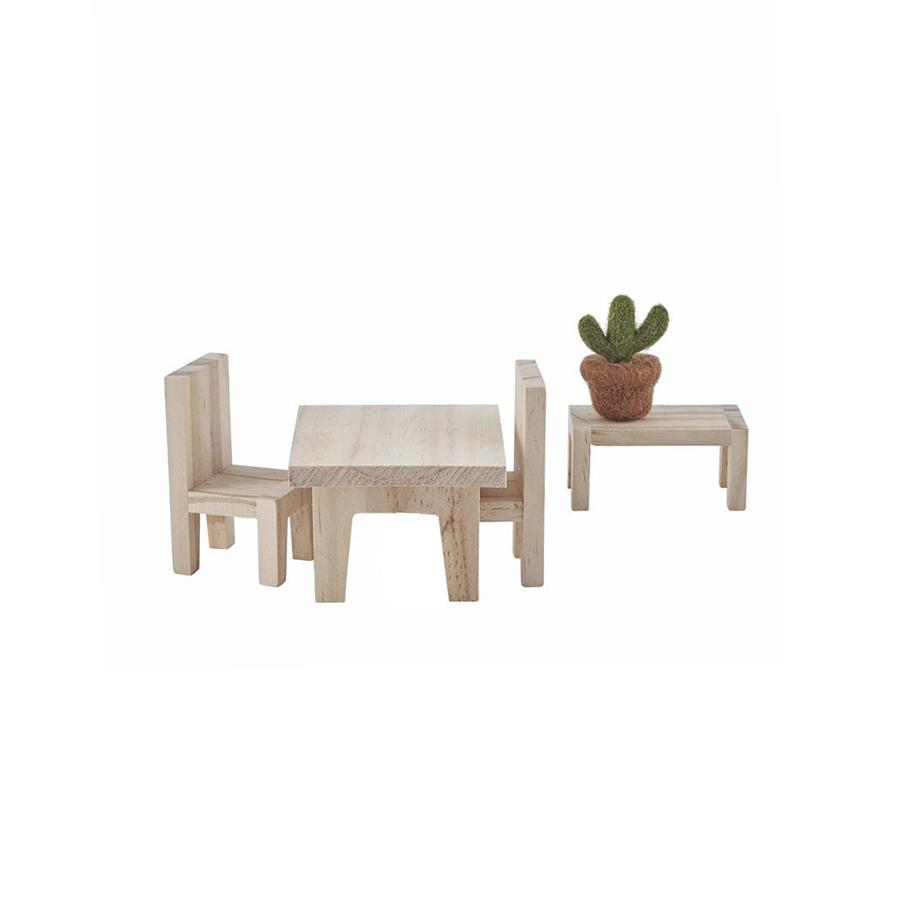 "Doll House Furniture ""Holdie Dining Set"""