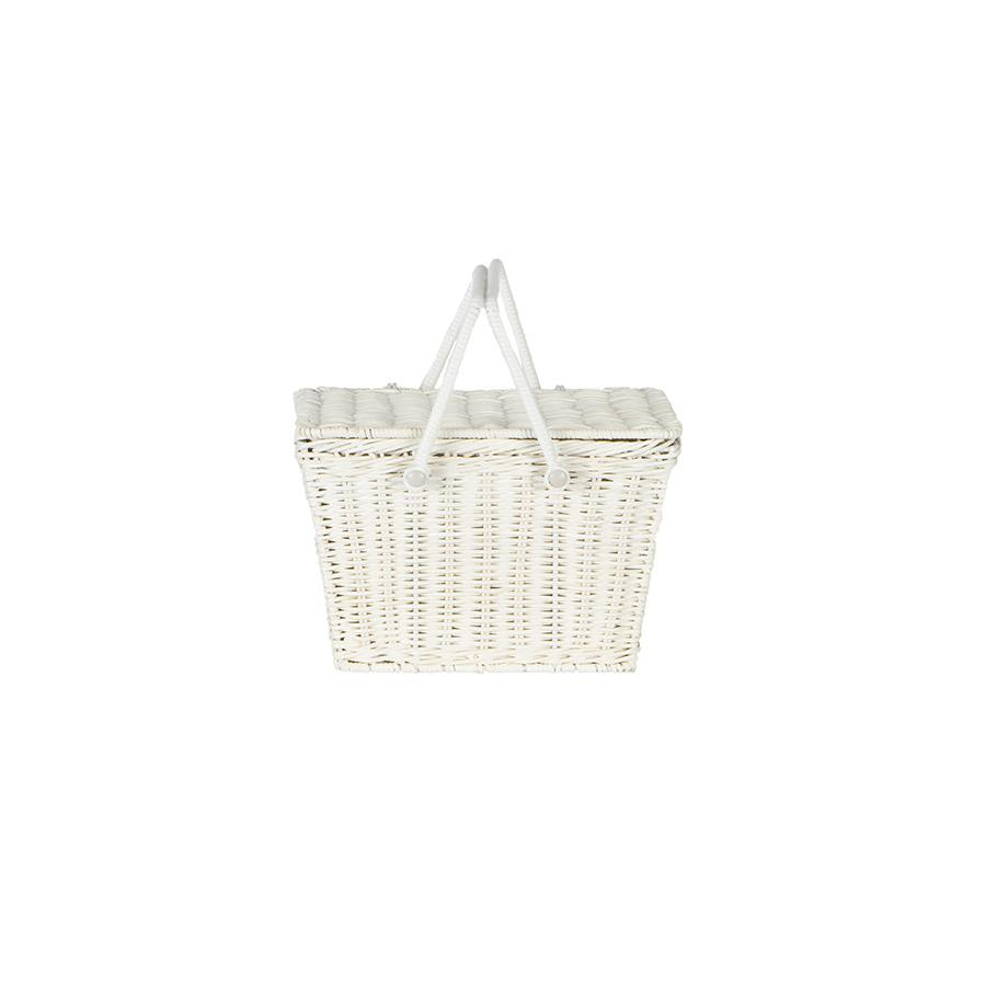 "Picnic Basket ""Piki Basket White"""