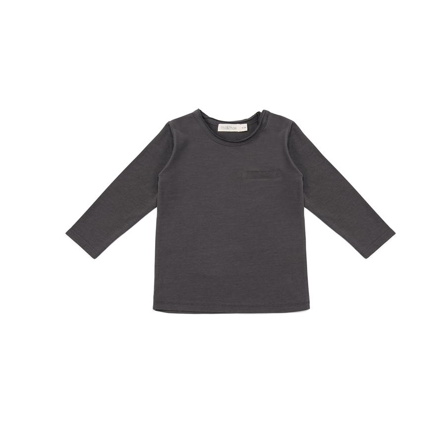 "Long Sleeve Shirt ""Pocket Graphite"""