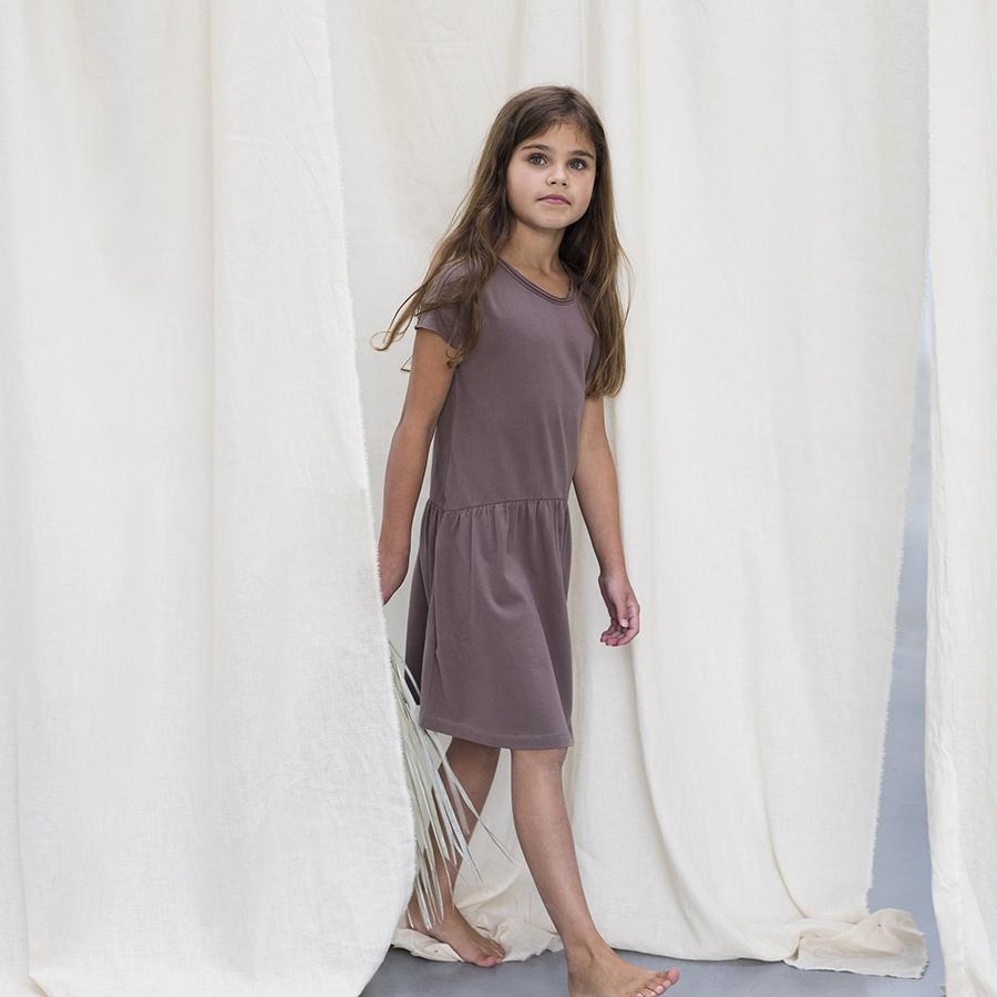 "Oversized dress ""Jersey Heather"""