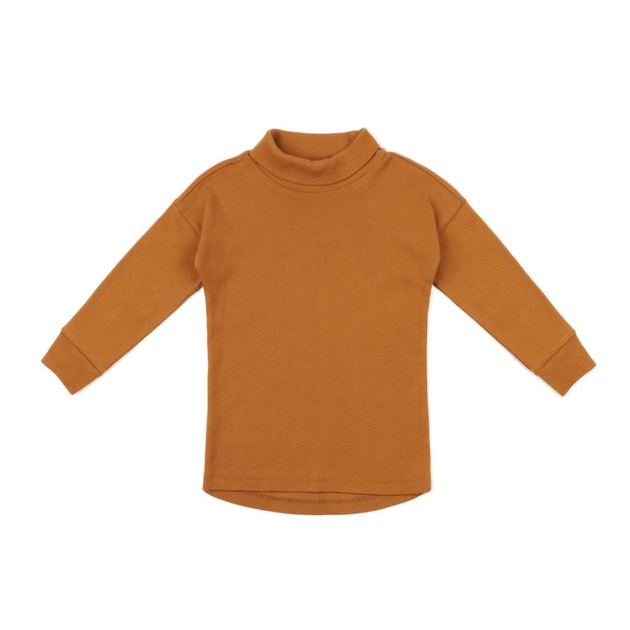 "Turtleneck Pullover ""Gold Ochre"""