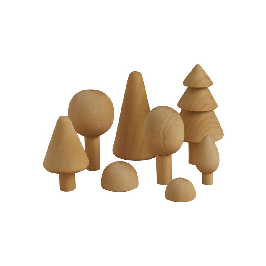 "Wooden Toy ""Forest Set Natural"""