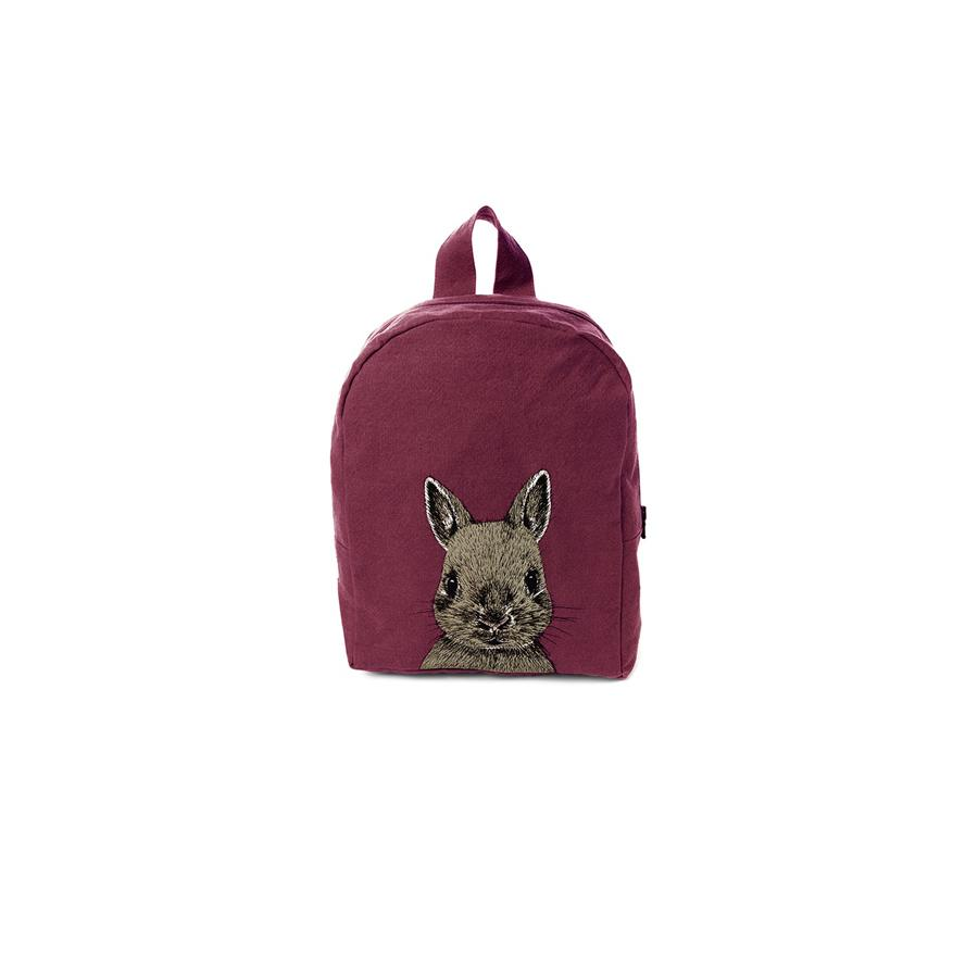 "Backpack ""Hardy Rabbit Burgundy"""