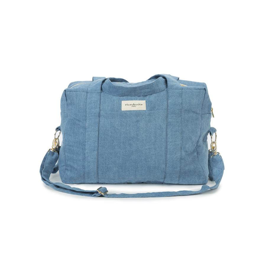"Changing Bag ""Darcy Anti Diaper Bag Denim Stonewashed"""