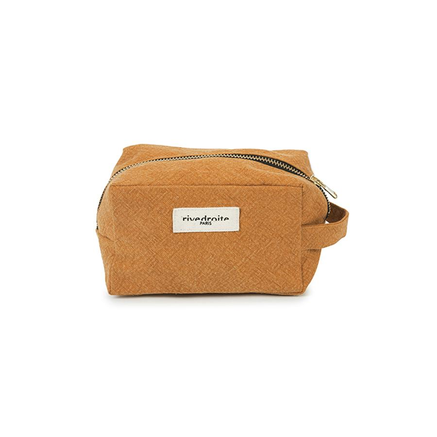 "Toiletry Bag ""Tournelle Yellow Amber"""
