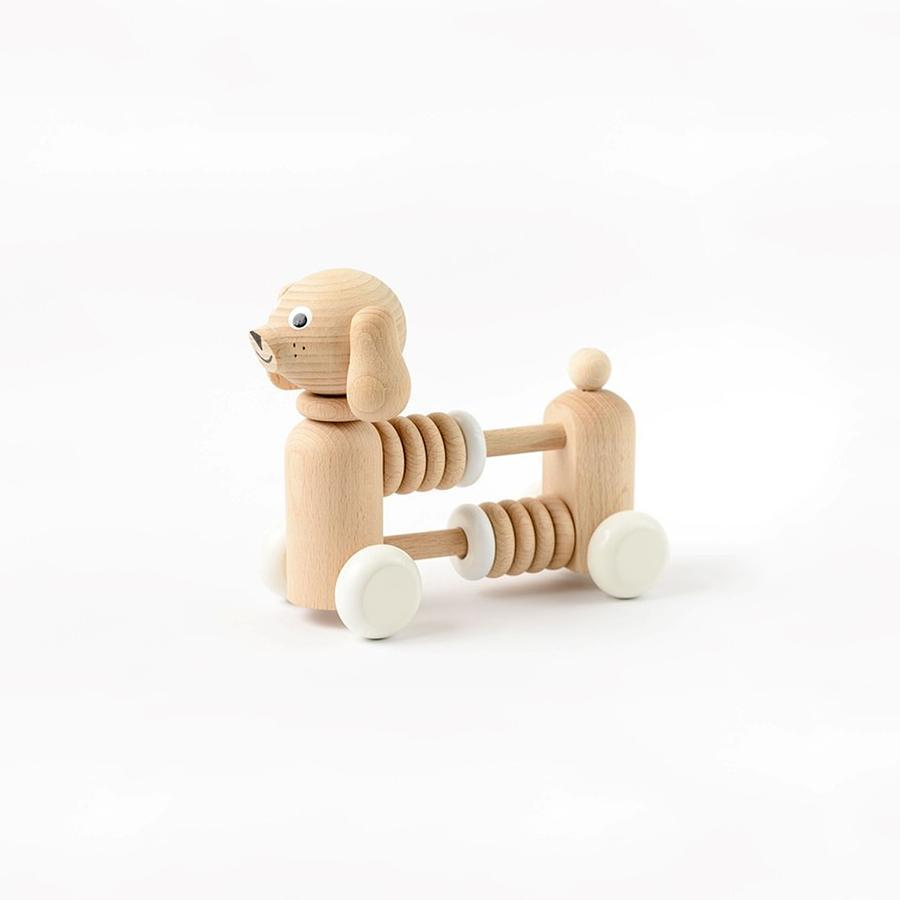 "Wooden Dog Counter ""Bartholomew Dog"""