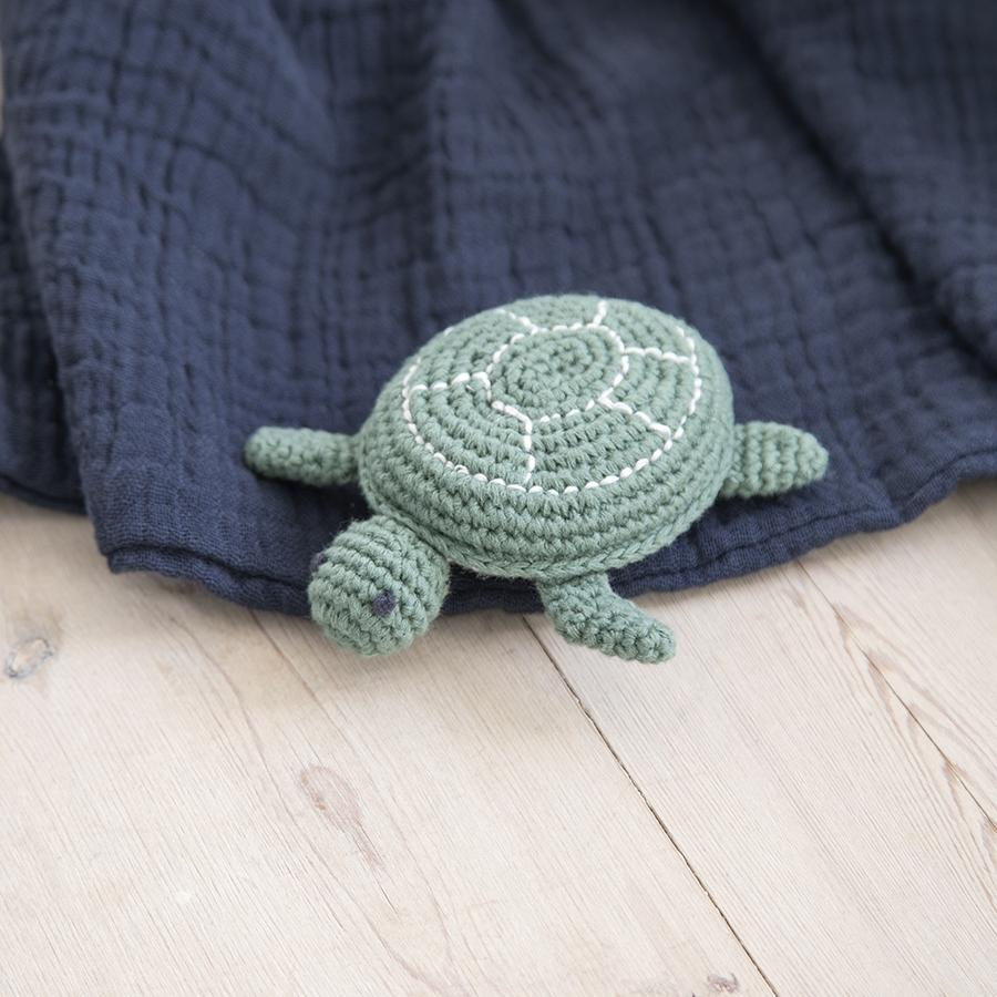 "Baby Rattle ""Crochet Triton the Turtle"""