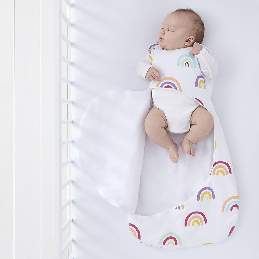 "Baby Sleeping Bag ""SnüzPouch Rainbow"""
