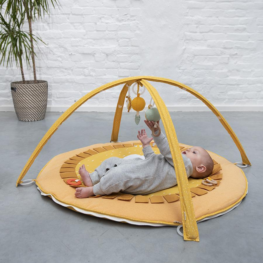"Activity blanket with play arch ""Mr. Lion"""
